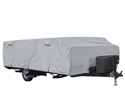 Classic Accessories 80-405-181001-RT PermaPro RV Cover for 16' - 18' Long Folding Camping Trailers