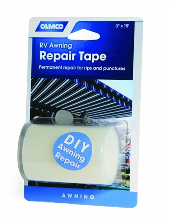 "Camco 3""X15' RV Awning Repair Tape"