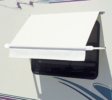 Carefree Wh0404f4fw Simply Shade Rv Window Awning 4 White