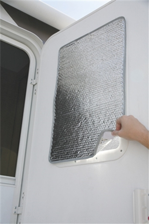 "Camco SunShield Reflective Door Window Cover - 24"" X 16"""