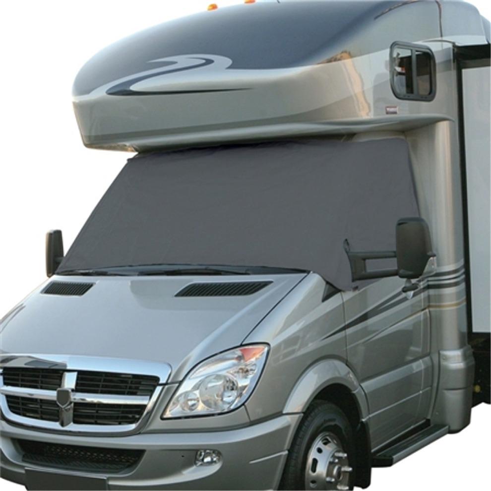 Dodge Sprinter Rv >> Classic Accessories 80 081 211001 00 Rv Windshield Cover Grey Dodge Sprinter Model 8