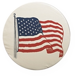ADCO 1782 Size B Spare Tire Cover Size - US Flag - 32.25""