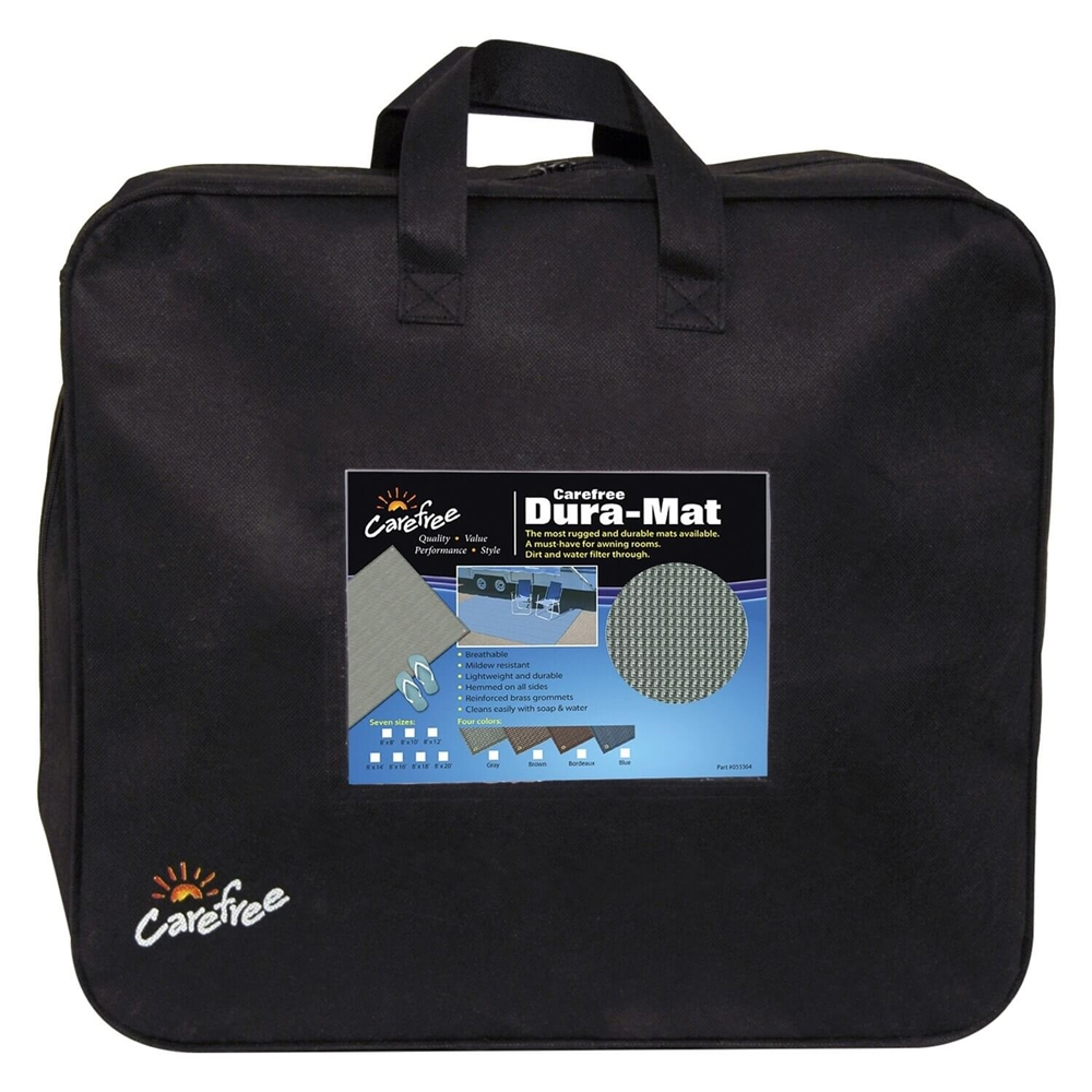 Carefree 181071 Rv Dura Mat 8x10 Gray