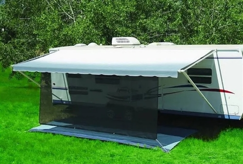 Carefree Of Colorado 82178802 Black 6' X 17' RV SunBlocker