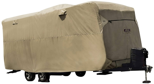 "ADCO 74842 Travel Trailer Storage Lot Cover - 22' 1"" to 24'"