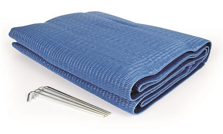 Camco 42881 Reversible Awning Leisure Mat - Blue - 9' x 6'