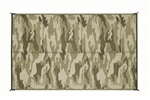 Camco 42886 RV Reversible Camouflage Outdoor Mat - 9' x 6'