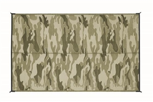 Camco 42825 RV Reversible Camouflage Outdoor Mat - 12' x 9'