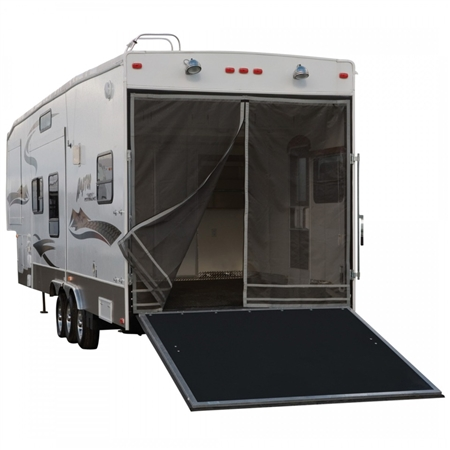 Classic Accessories RV Toy Hauler Screen - Fiberglass or Aluminum Frame