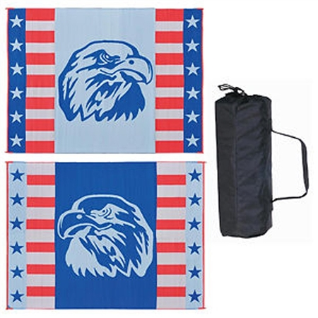 9' x 12' American Eagle Reversible RV Patio Mat