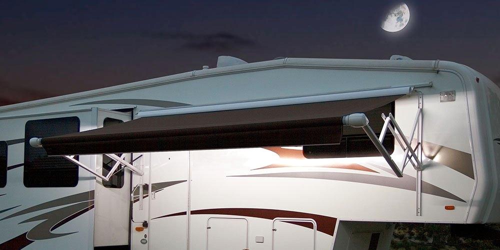 Carefree SR0113 LED RV Awning Light Kit, White, 16FT