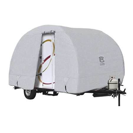 Classic Accessories 80-255-151001-00 OverDrive PermaPRO Deluxe R-Pod Cover Fits up to 18.8' Long Trailers