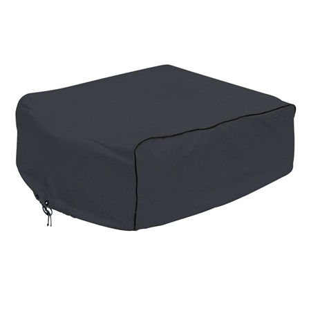 Classic Accessories RV AC Cover Black - Coleman Mach, Roughneck & TSR