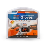 Camco 40286 RV Sanitation Disposable Nitrile Gloves - 30 Count - Orange
