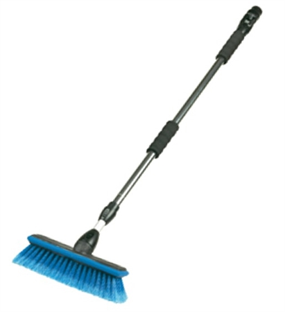"Carrand 68"" Extendable Wash Handle With 10"" Brush"