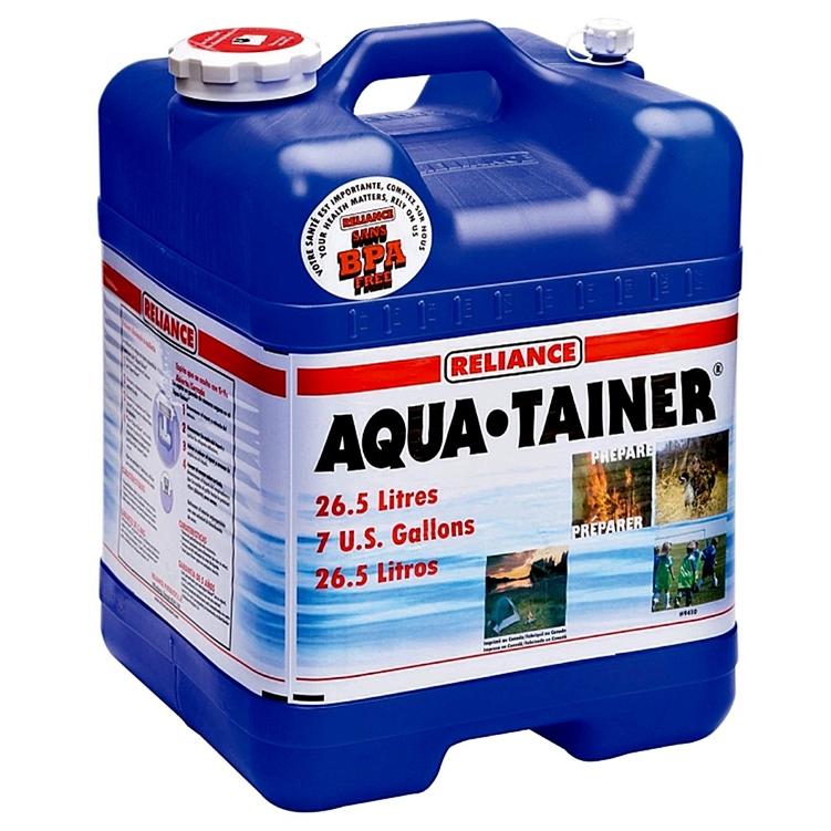 Reliance 9410-03 Aqua-Tainer 7 Gallon Rigid Water Container  sc 1 st  RVupgrades & Reliance 9410-03 7 Gallon RV Water Storage Container