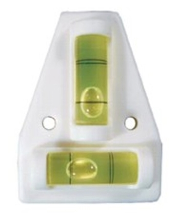 Prime Products White 2 Way RV Utility Level