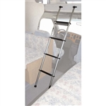 Topline BL200-07 RV Silver Bunk Ladder with Docking System - 60""
