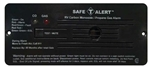 Safe-T-Alert 35-742-BL 35 Series Dual CO/LP Gas Detector - Flush Mount - Black