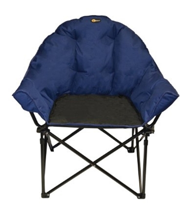 Faulkner Big Dog Bucket Chair - Blue/Black