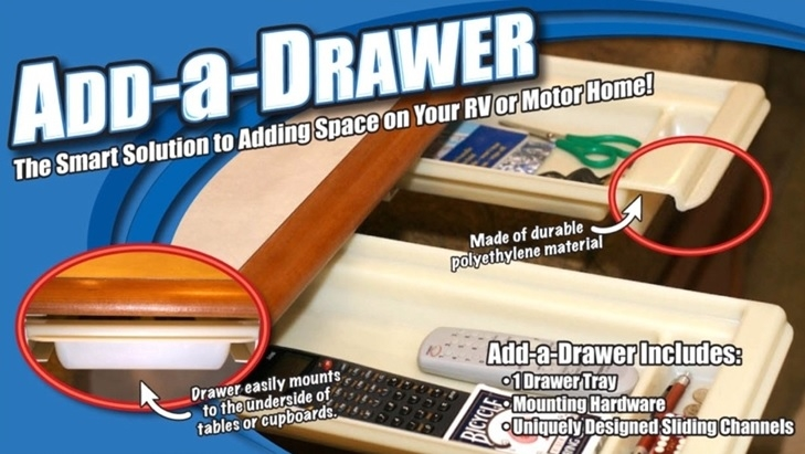 Smart Solutions 814 Rv Add A Drawer Table Kit
