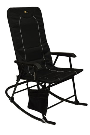 Faulkner Dakota Folding Rocking Chair - Black