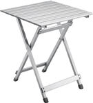Ming's Mark TA-8120 Medium Aluminum Folding Side Table