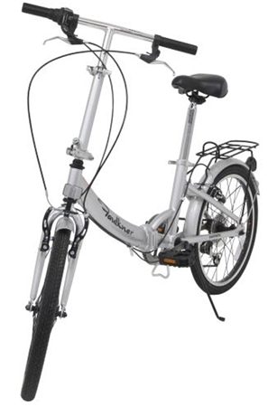 "Faulkner 82085 6-Speed Folding Pedal Bike - 20"" Rim"
