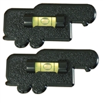 Prime Products 28-0113 5th Wheel Bubble Level - Black - 2 Pack