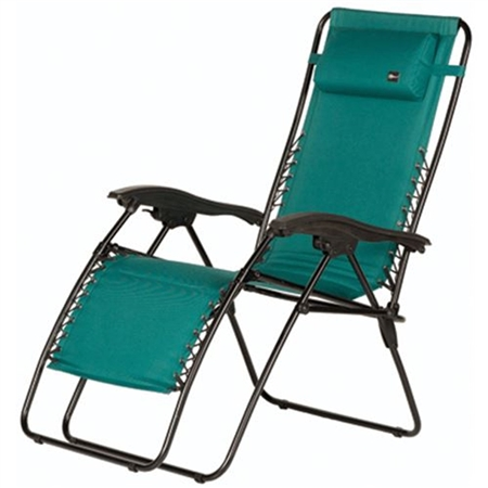 Faulkner Malibu Style Green Outdoor Recliner - XL