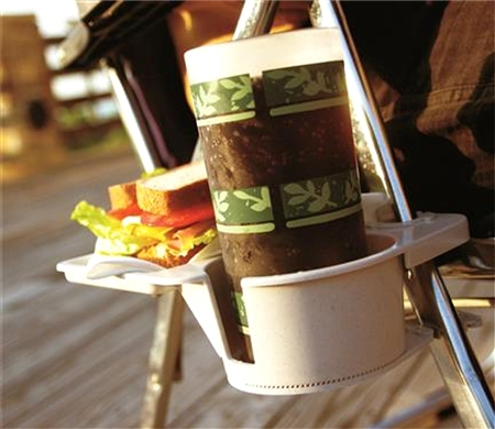 Camco Snack Daddy Camping Chair Mount