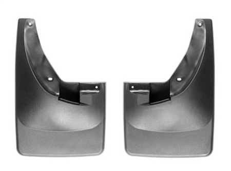 WeatherTech 2006 to 2009 Dodge Ram Mud Flaps Front - W/Out Flares