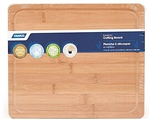 Camco 43546 RV Bamboo Cutting Board with Juice Groove and Foot