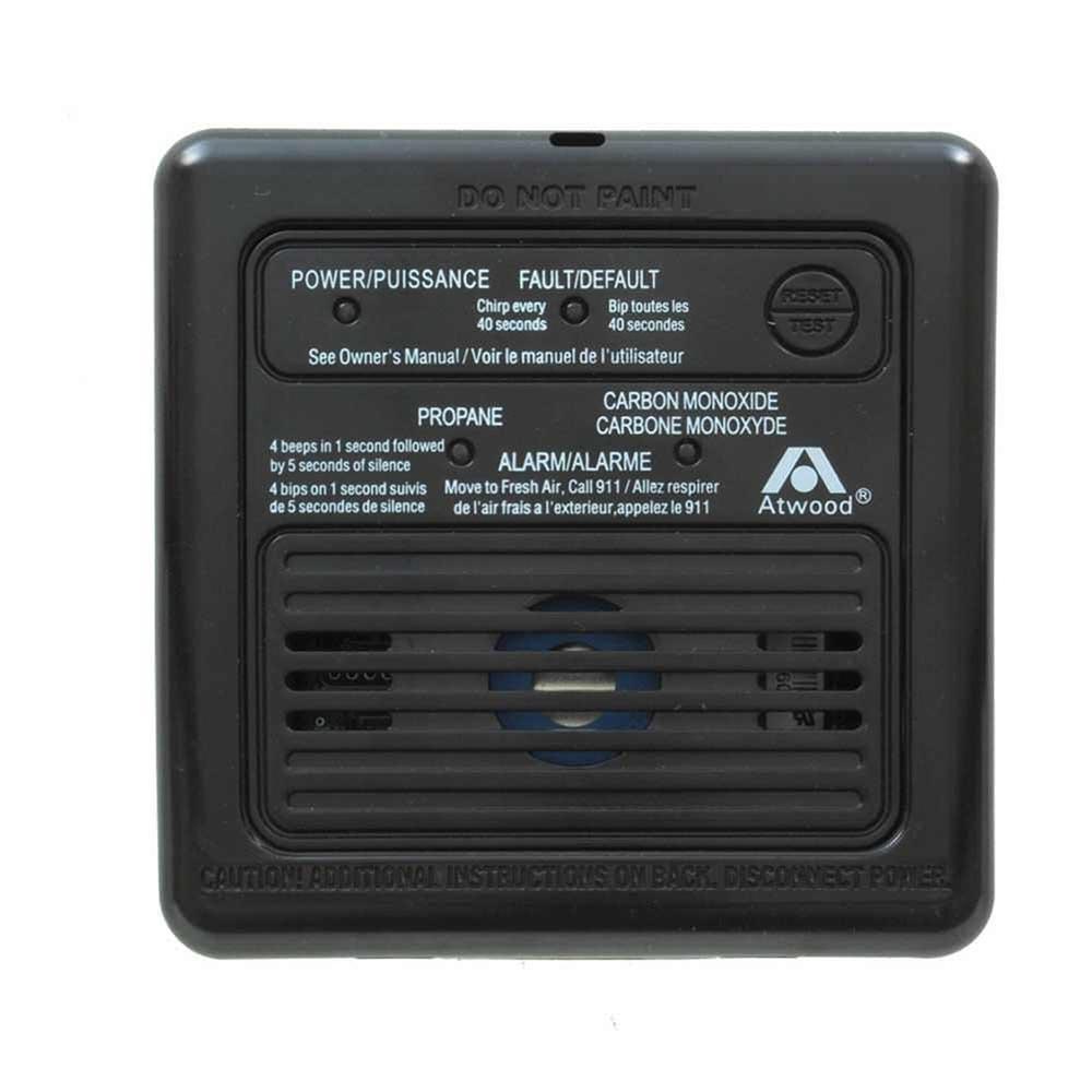 atwood 31012 dual rv lp co alarm black rh rvupgradestore com K&N Cob B Atwood Carbon Monoxide Alarm K&N Cob B Atwood Carbon Monoxide Alarm
