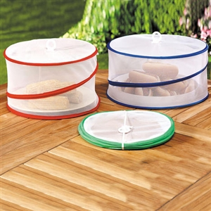 Ming's Mark Inc. FC-68102 Collapsible Food Covers - 3 PC
