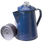 GSI Outdoors 15154 Camping Percolator Coffee Maker - 8 Cup, Blue