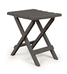 Camco Folding Side Table - Charcoal