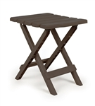Camco Folding Side Table - Brown