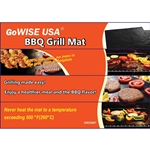 "Ming's Mark GW22607 13"" x 15.75"" BBQ Grill Cooking Mat"