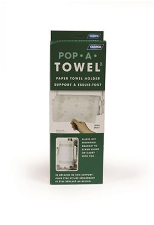 Camco RV Pop-A-Towel - White