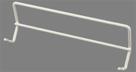 AP Products 004-310 Double Towel Bar - White