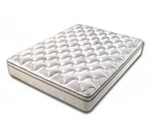 "Denver Mattress 360172 Short Queen Euro Top Mattress - 75"" x 60"" x 9"""