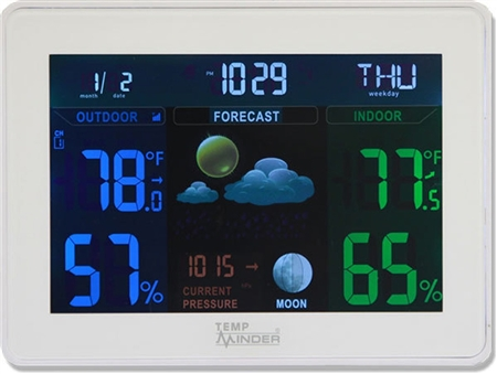 Minder Research TempMinder Weather Station