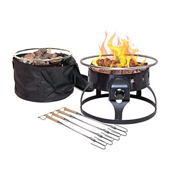 Camp Chef GCLOGD Redwood Fire Pit