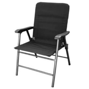 Prime Products 13-3349 Elite Folding Chair - Baja Black