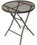 Prime Products 13-5087 Folding Bistro Table - Brown
