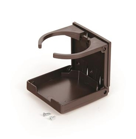 Camco 44043 Adjustable Drink Holder - Brown