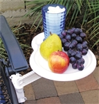 Prime Products 13-9001 Adjustable & Removable Snack Tray