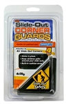 Camco 4Pk RV Slide-Out Guards Black