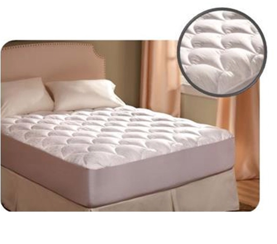 Denver Mattress 343494 Rv Collection Ultra Plush Short Queen Mattress Pad 350 Thread Count